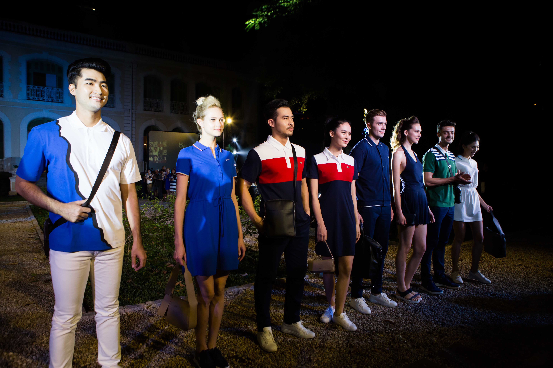9 thuong hieu lacoste 85 nam Tiet muc Fashion Show - elle vietnam