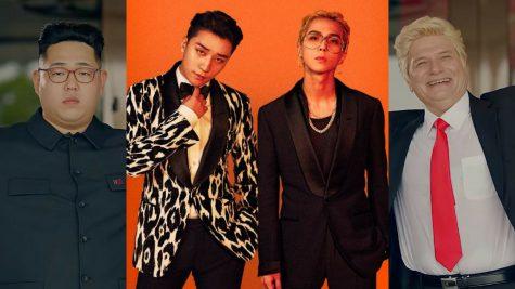 """Ca sĩ Seungri (BIGBANG) và MINO (WINNER) """"quẩy"""" cùng Donald Trump và Kim Jong Un trong MV mới"""