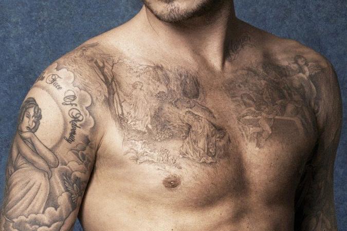 hình xăm của David Beckham - elle man (8)