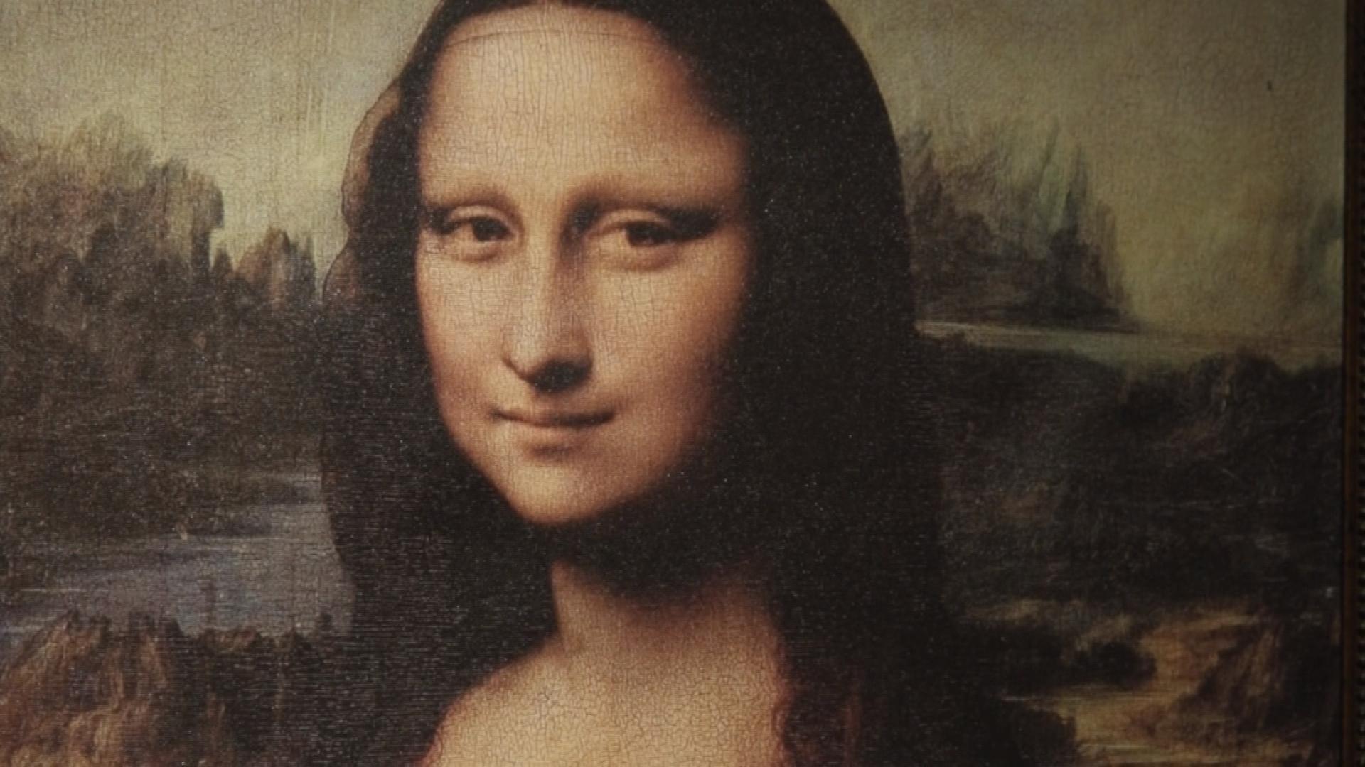 Bức tranh nàng Mona Lisa lừng danh của danh họa Leonardo da Vinci. Ảnh: Mafiamedia