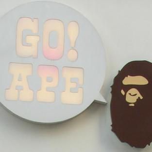 Ý nghĩa logo thương hiệu - Phần 5: A Bathing Ape (BAPE)