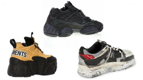 Xu hướng giày thể thao Chunky: 12 thiết kế nổi bật giữa năm 2018