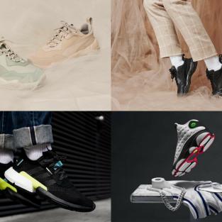 6 thiết kế giày thể thao nổi bật đầu tháng 8/2018