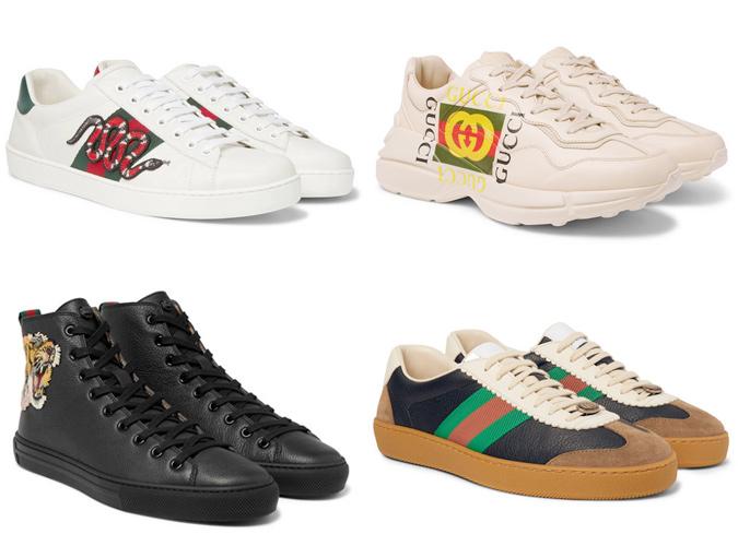 Những đôi giày của GUCCI luôn tạo nên cơn sốt cho làng thời trang trên toàn thế giới. Ảnh: Fashionbeans