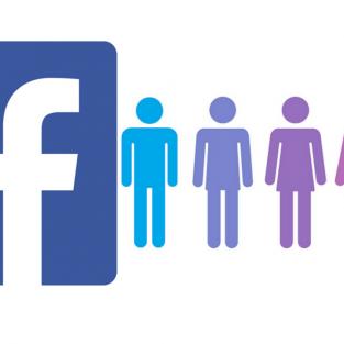 Ứng dụng hẹn hò Facebook cho phép chọn đến 5 giới tính