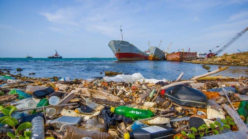 Môi trường đại dương ngày càng trở nên trầm trọng do r:ác thải nhựa. Ảnh: Change