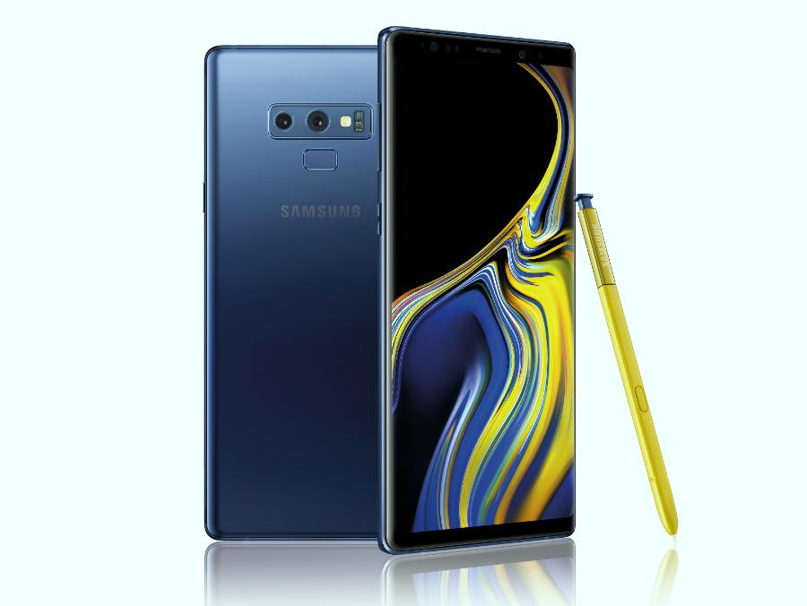 Điện thoại Galaxy Note9 là chiến mã của Samsung trong mùa Thu năm nay. Ảnh: TrustedReviews