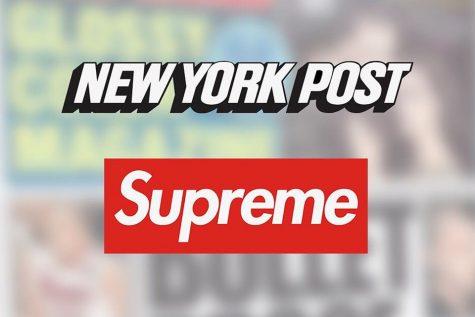 Tờ New York Post phát hành ấn bản in logo thương hiệu Supreme