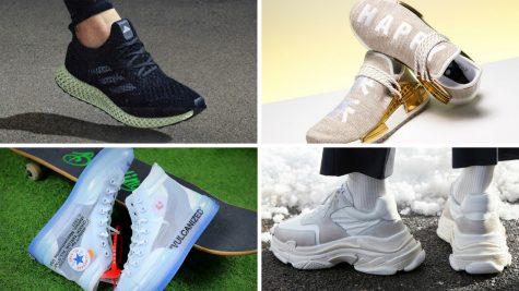 10 mẫu giày thể thao đắt nhất quý 2/2018