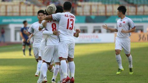 Đội tuyển U23 Việt Nam: Đánh bại Nhật, giành ngôi nhất bảng