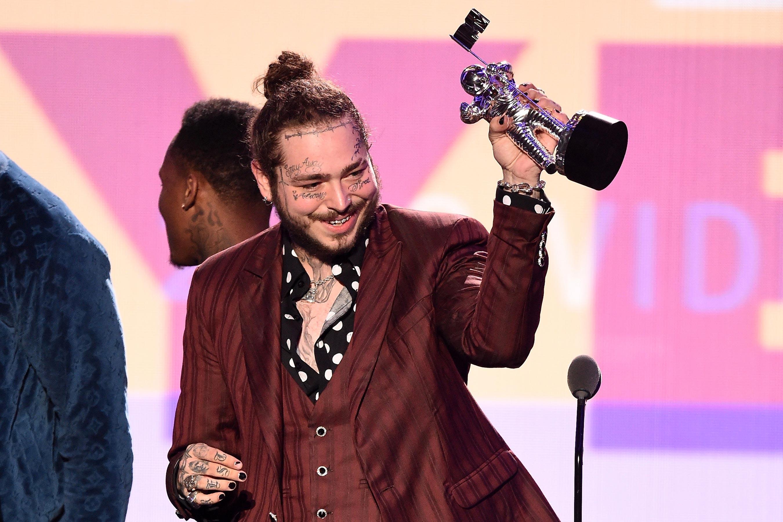 le trao giai MTV VMAs 2018 - elle man 3