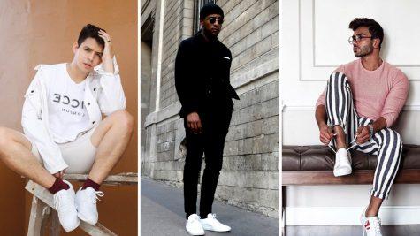 Gợi ý phối đồ thời thượng cùng giày sneaker trắng