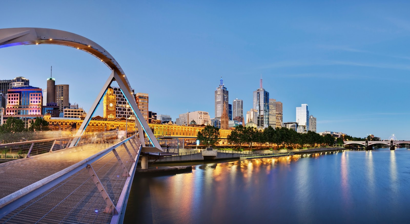Thành phố Melbourne xếp thứ 2 trong danh sách này. Ảnh: Newsvietuc