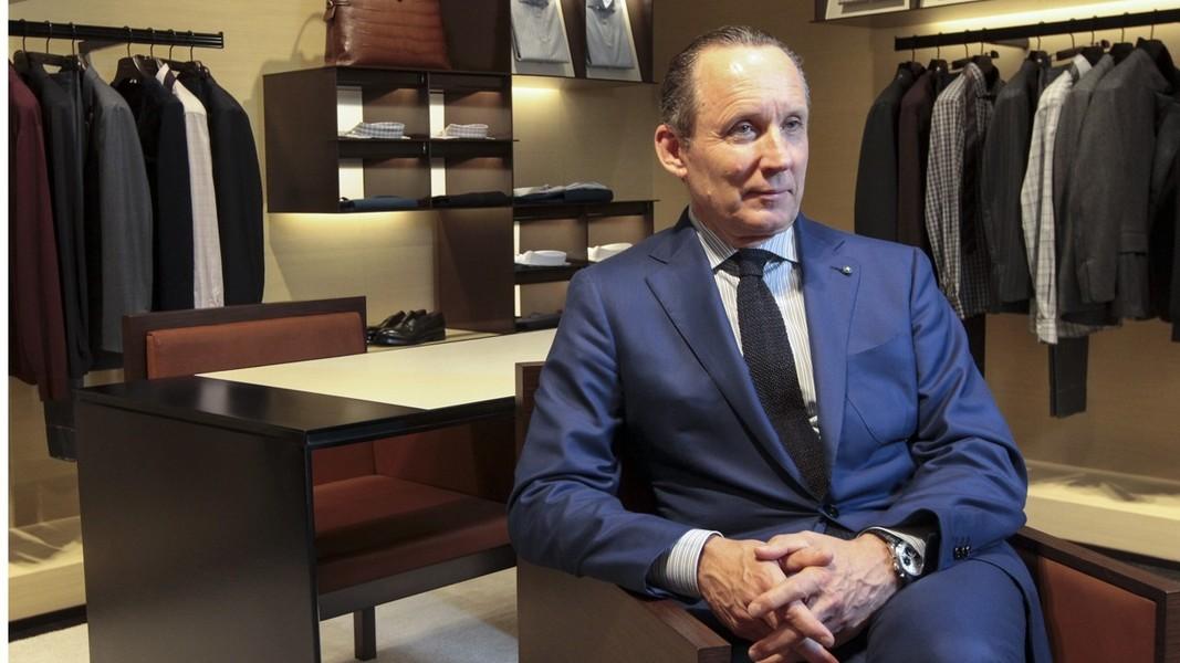 Theo Giám đốc điều hành Gildo Zegna, đây là bước đầu nỗ lực đổi mới định hướng kinh doanh của tập đoàn Emergenildo Zegna trong việc mở rộng thị trường bán lẻ thời trang cho đối tượng khách hàng cao cấp trẻ tuổi. (Ảnh: SCMP/Bruce Yan)