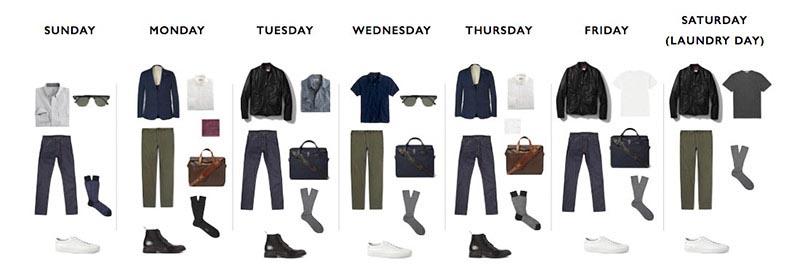 Capsule Wardrobe: Xu hướng thời trang trọng chất lượng hơn số lượng