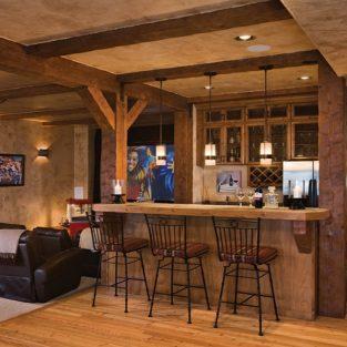 Home bar: Không gian sống hiện đại của quý ông có gu thưởng thức cuộc sống