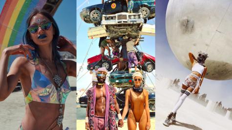20 bức ảnh đẹp nhất từ lễ hội Burning Man 2018