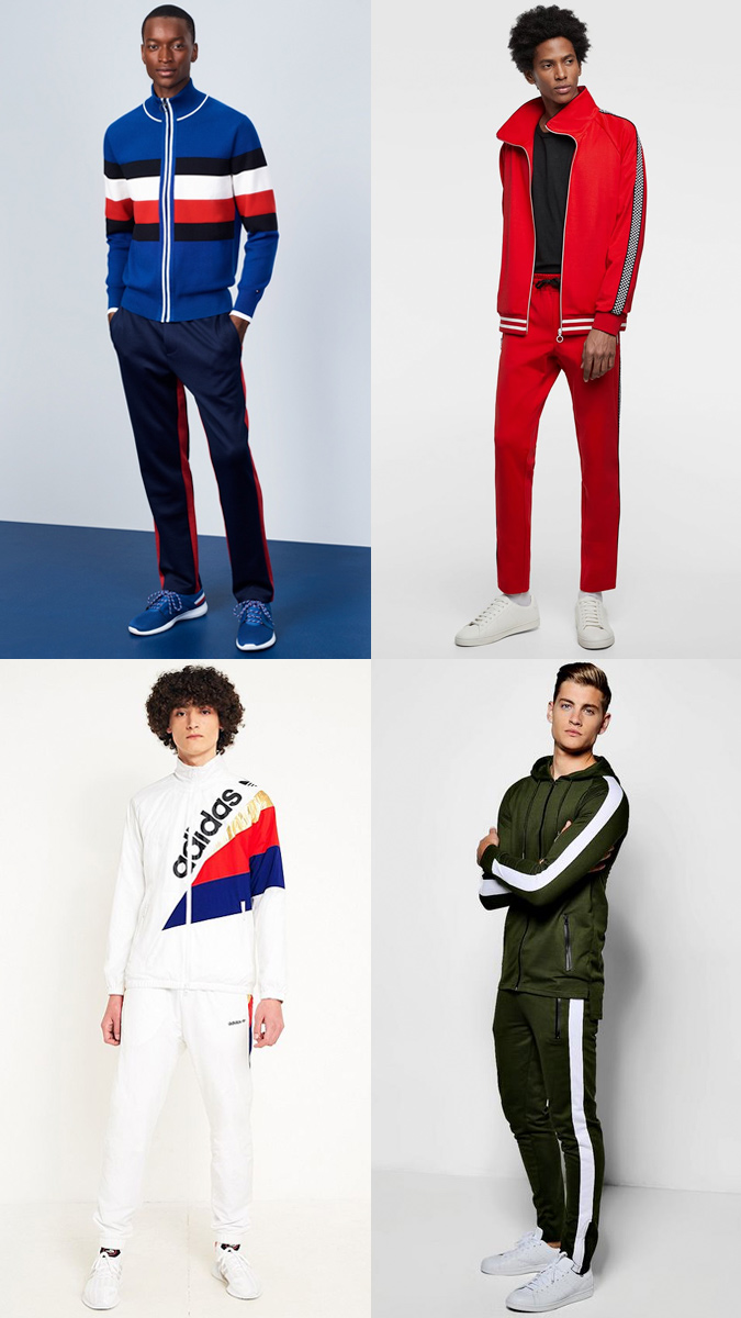 Diện quần áo tracksuit theo phong cách Athleisure mang đến cảm giác thoải mái và năng động. Ảnh: Fashionbeans