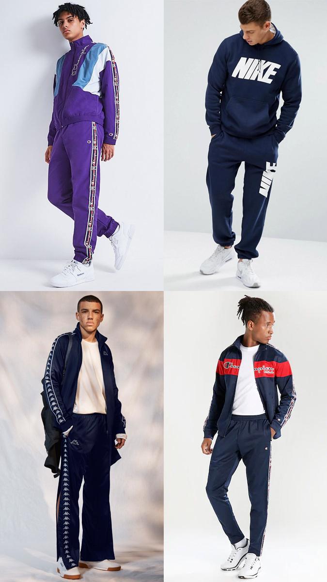 Cuộc chạy đua logo của những thương hiệu quần áo thể thao ngày càng khốc liệt. Ảnh: Fashionbeans