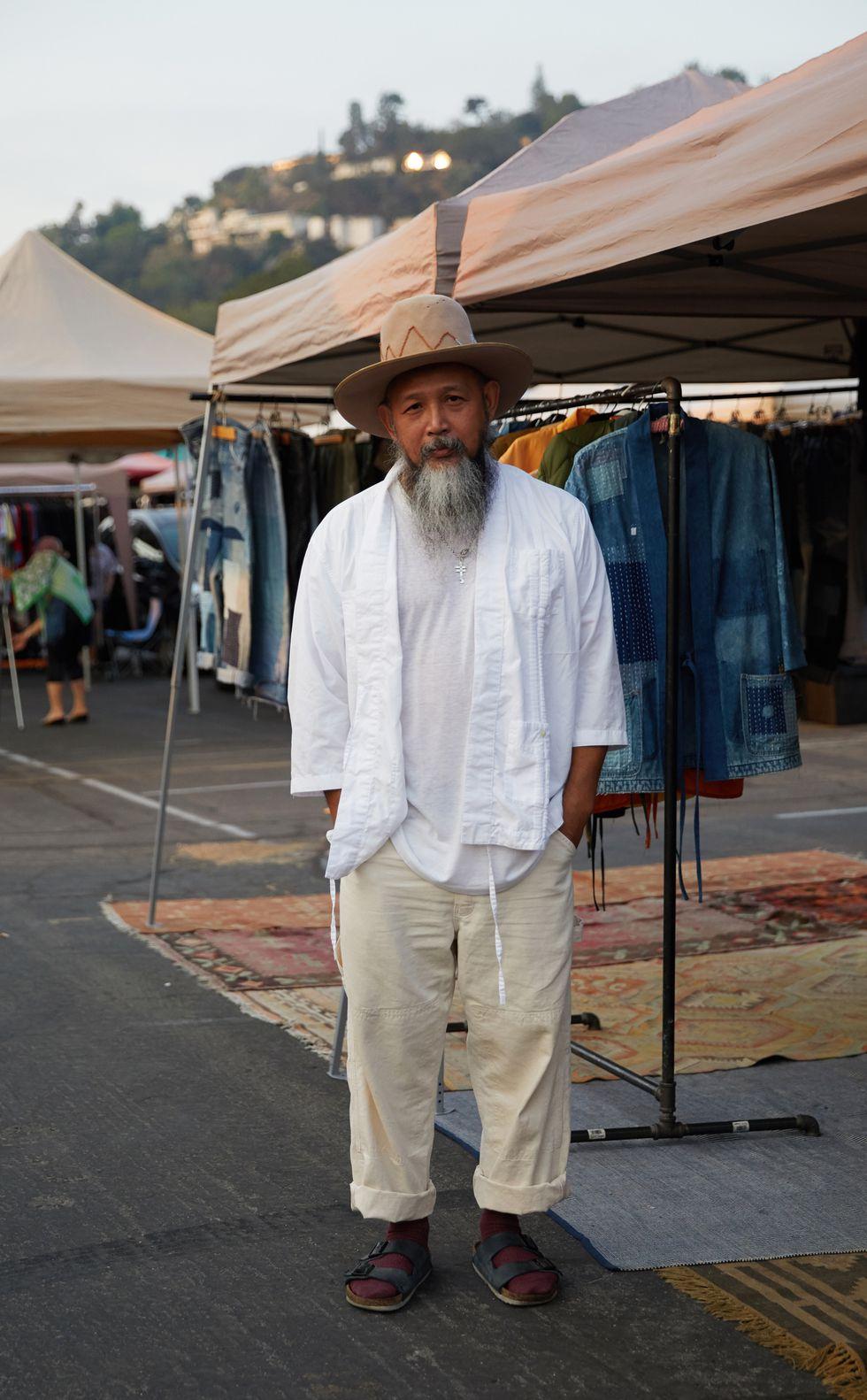 phong cach vintage - Zee Bernardo is the owner of the shop Seulement - elle man