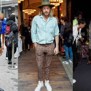 Phong cách sao nam ấn tượng tại tuần lễ thời trang New York Xuân-Hè 2019