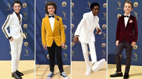 Thời trang sao nam ấn tượng tại giải Emmy 2018