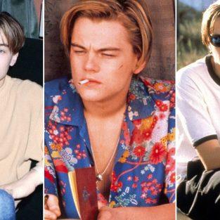 Phong cách thời trang thập niên 90 kinh điển của Leonardo DiCaprio