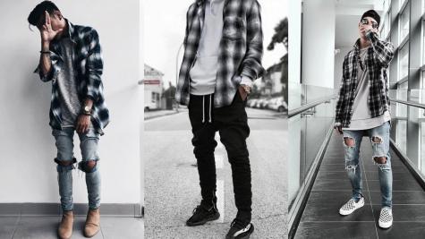 Sự trở lại của những chiếc áo flannel cho mùa Thu Đông 2018