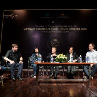 Thay đổi lịch biểu diễn đêm hòa nhạc Vietnam Airlines Classic - Hanoi Concert 2018