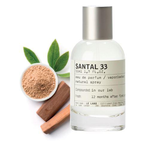 the gioi mui huong - santal 33 le labo - elle man