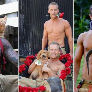 """Ngắm nhìn những chàng lính cứu hỏa Úc """"nóng bỏng"""" trong bộ lịch 2019"""