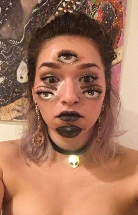 hoa trang halloween elle man 19