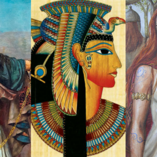 Những người phụ nữ từng làm thế giới cổ đại rúng động