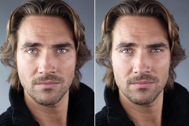 Bức ảnh bên trái là để mắt bình thường, còn tấm hình bên phải. Ảnh: swiatobrazu.pl