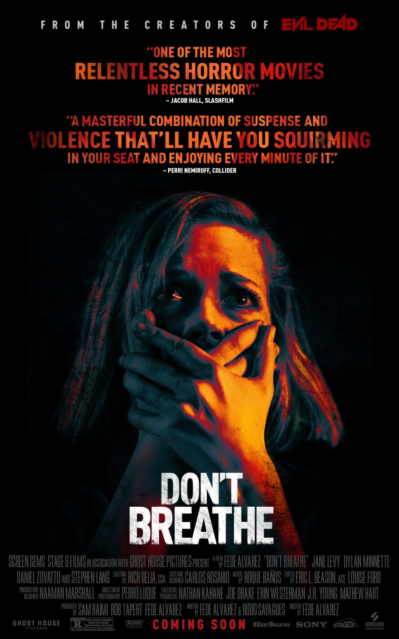 phim kinh di halloween - Don't Breathe - elle man