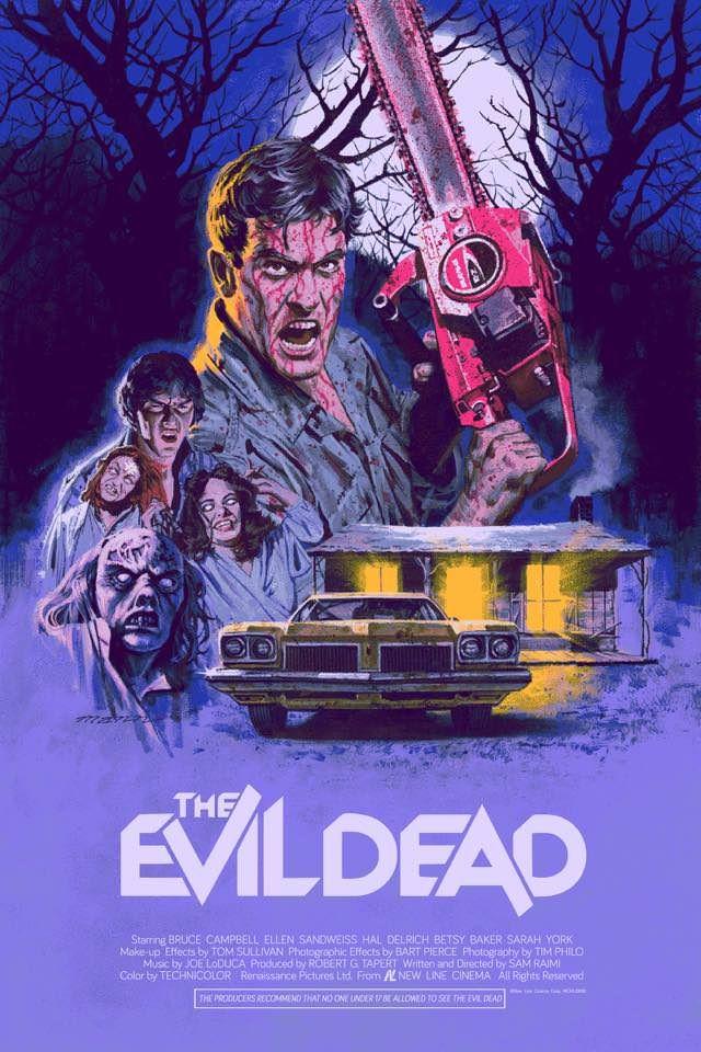 phim kinh di halloween - the evil dead 1981 - elle man