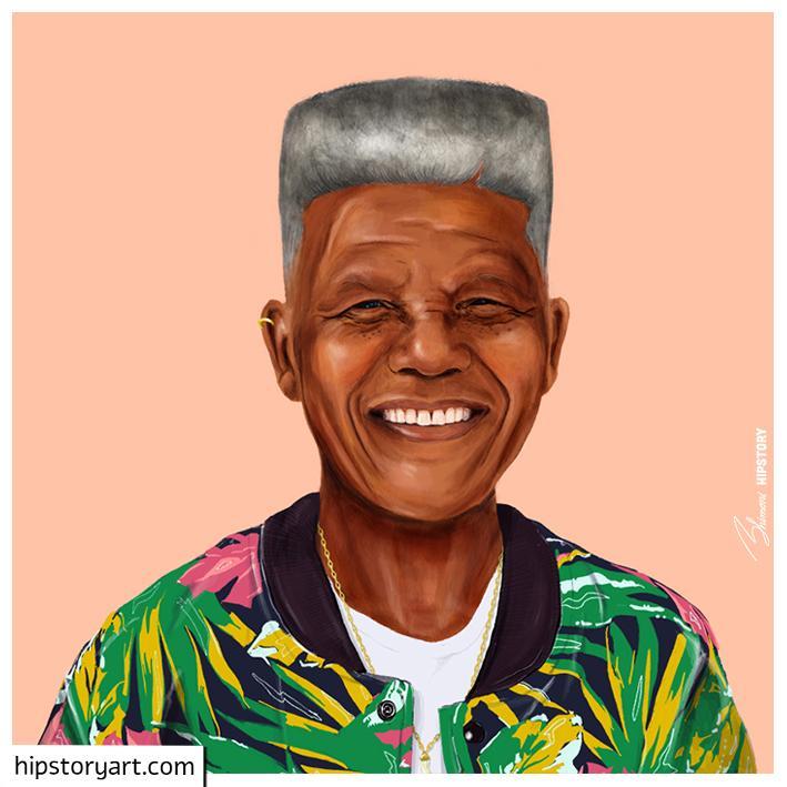 nguoi noi tieng - NELSON MANDELA - elle man