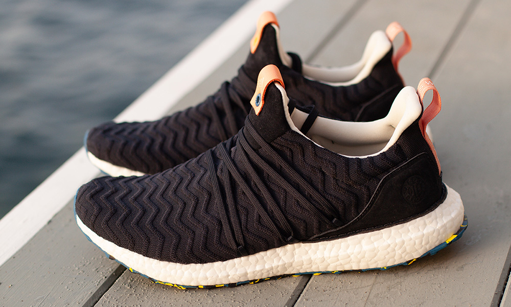 "giay theo thao dat nhat q3.2018 - A Kind of Guise x adidas Ultra Boost ""Navy"" - elle man"