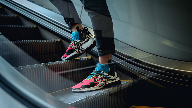 "giay theo thao dat nhat q3.2018 - Acronym x Nike Air Presto Mid ""Racer Pink"" - elle man"