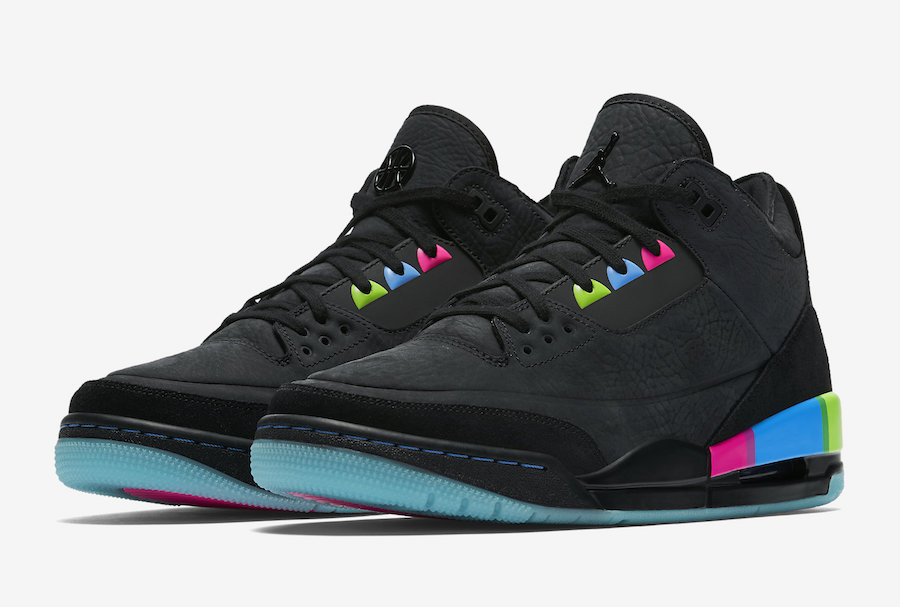 "giay theo thao dat nhat q3.2018 - Nike Air Jordan 3 ""Quai54 2018"" - elle man"