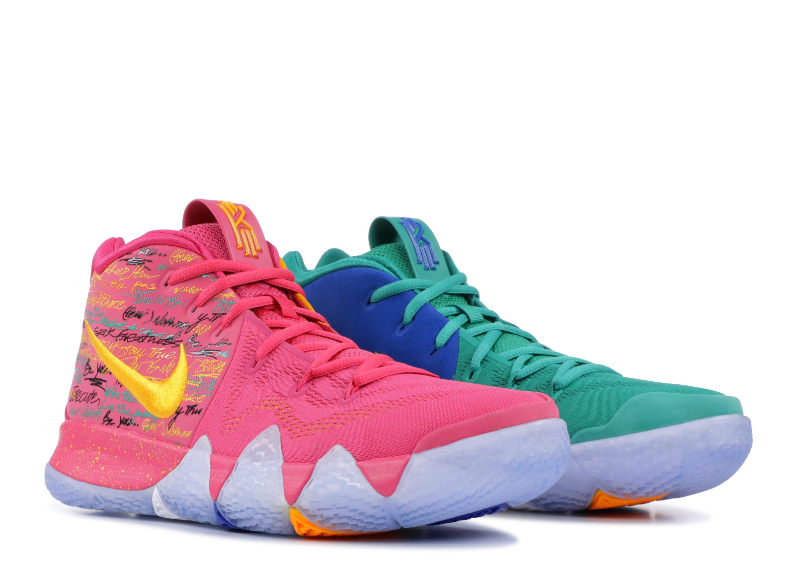 "giay theo thao dat nhat q3.2018 - Nike Kyrie 4 ""NBA 2K18"" - elle man"