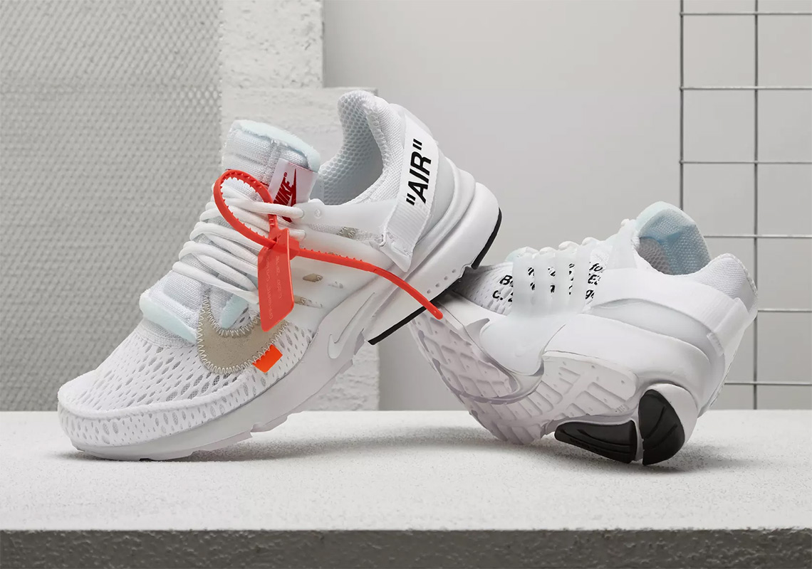 """giay theo thao dat nhat q3.2018 - Off-White x Nike Air Presto """"white"""" - elle man"""