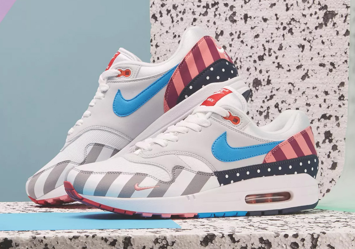 giay theo thao dat nhat q3.2018 - Parra x Nike Air Max 1 - elle man