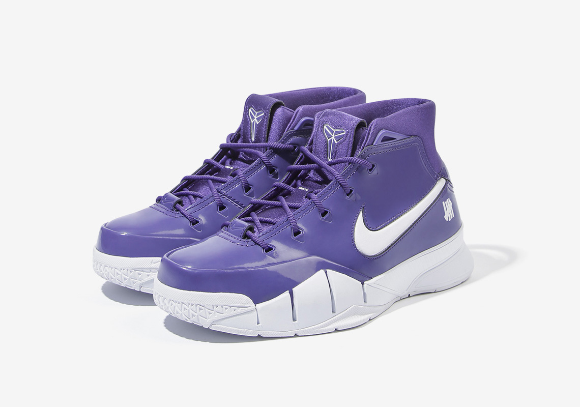 "giay theo thao dat nhat q3.2018 - UNDEFEATED x Nike Kobe 1 Protro ""Purple"" - elle man"