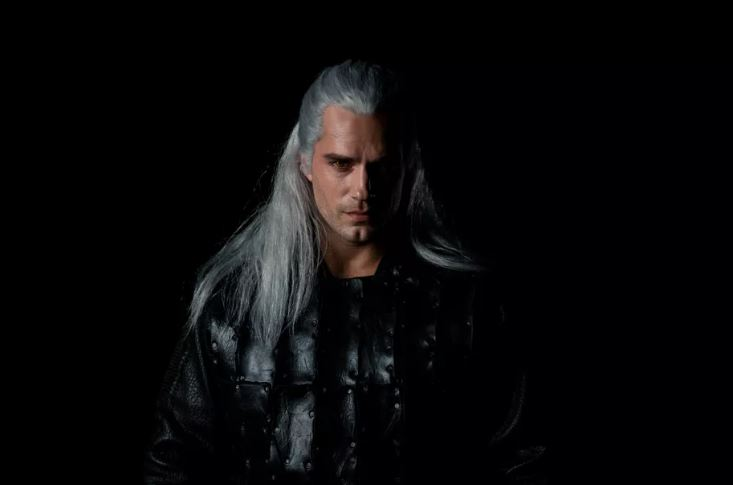 henry cavill the witcher - elle man feature
