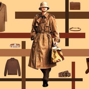ELLE Man Style Calendar: Phong cách Vintage cùng tone nâu cho những ngày lạnh cuối năm