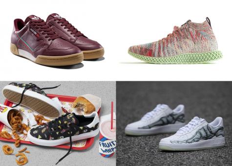 6 thiết kế giày thể thao nổi bật tuần 1 tháng 11/2018