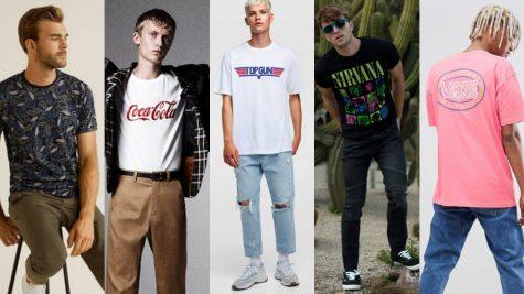 Phong cách thời trang ấn tượng với 5 mẫu áo thun graphic