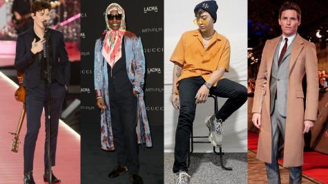 Thời trang sao nam ấn tượng tuần 2 tháng 11/2018