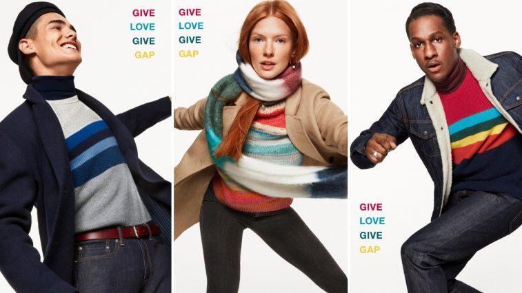 Màu sắc cùng thương hiệu Gap trong mùa lễ hội cuối năm
